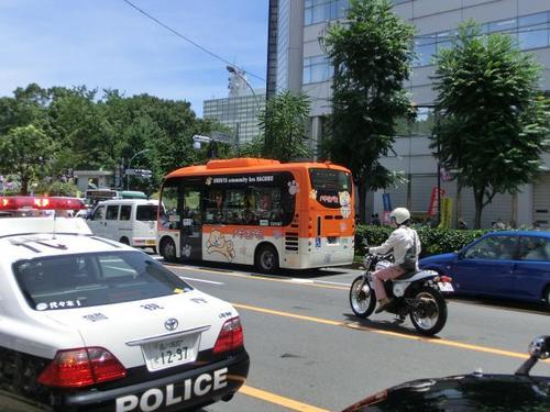 06コミュニティーバス(渋谷区のハチ公バス).JPG