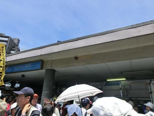 03代々木上原駅のツバメの巣.JPG