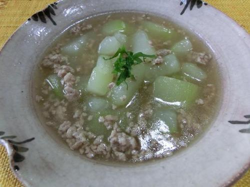 12夕顔と豚そぼろの煮物.JPG